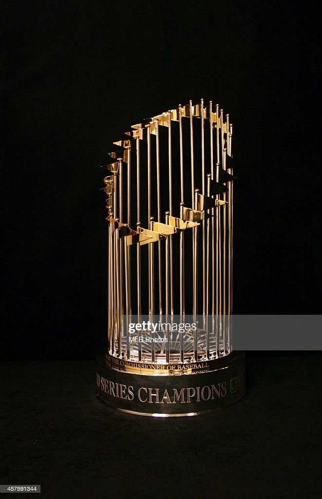 World Series Trophy photographed on Wednesday January 1 2014 in New York City New York