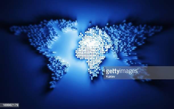 Statistiques carte du monde