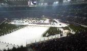 World Team Challenge Gelsenkirchen Uebersicht der Arena Auf Schalke