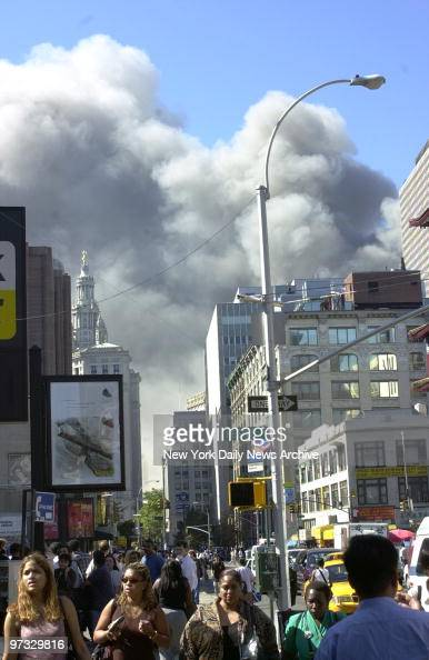 the symbolism of the terrorist attack on world trade center Smoke pours from a tower of the world trade center, on september 11, 2001 after two hijacked airplanes hit the twin towers in a terrorist attack on new york city.