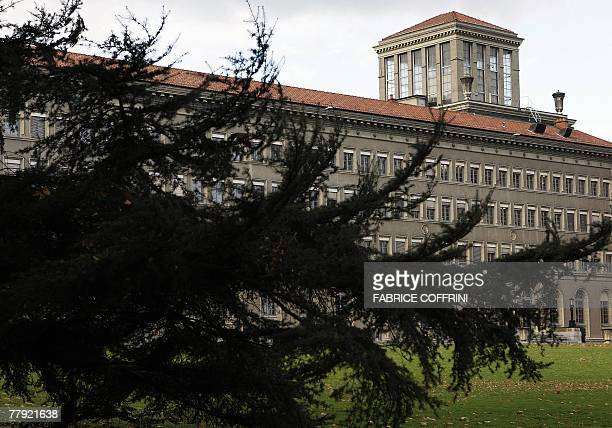 World Trade Organization headquarters are seen 15 November 2007 in Geneva Developing country trade ministers are meeting 15 November 2007 amid...