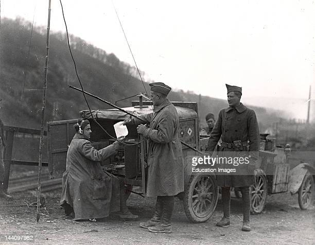 World War I First Radio Station Established By The Army In Germany