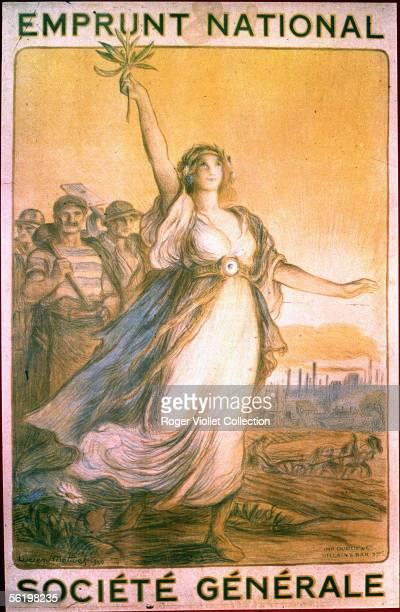 World War I Poster for National loan by Lucien Metivet 1920
