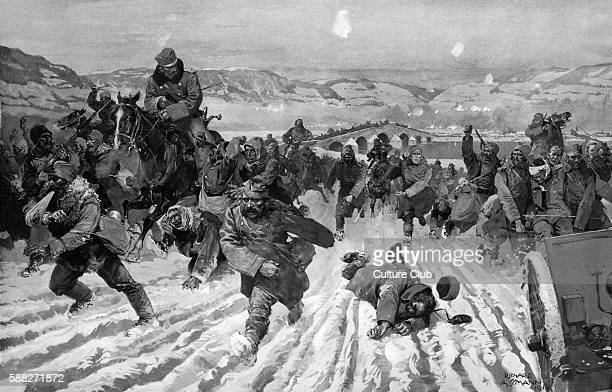 War between Austro Hungary and Serbia Retreat of Serbia after nine days of fighting by Kolubara river in November 1914 Following Austro Hungarian...