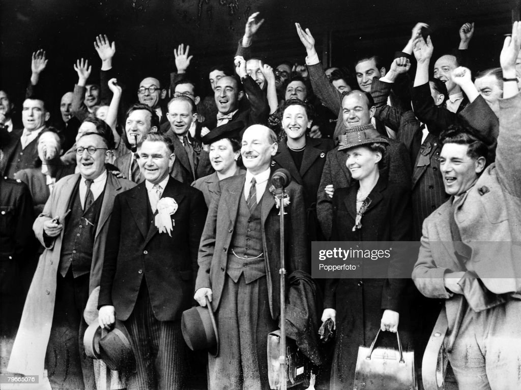 labours victory 1945 The labour governments 1945-1951 - what economic and social policies  after  the landslide victory of 1945, clement attlee's government wasted no time in.