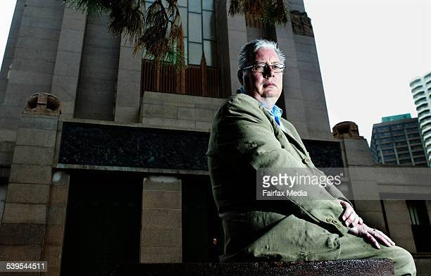 World War II author Robert Brown at the Anzac Memorial in Hyde Park Sydney 23 March 2005 SHD NEWS Picture by LEE BESFORD