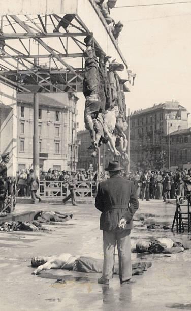 The death of Benito Mussolini and Claretta Petacci ...