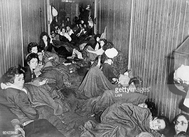 World War II BergenBelsen concentration camp The hospital