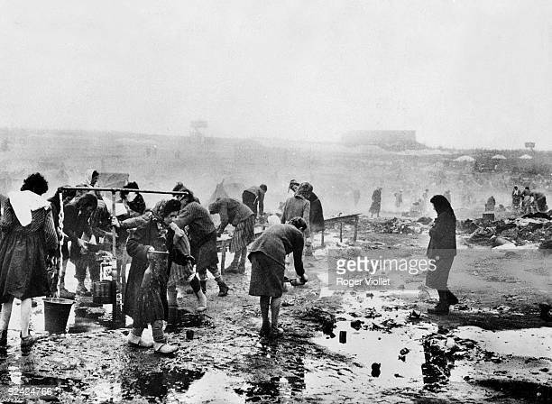 World War II Daily life in BergenBelsen concentration camp