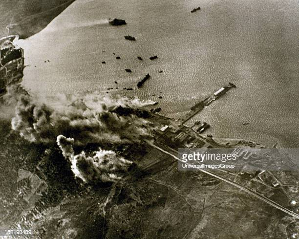 World War II German aircraft attack against the port of Crete The German army once conquered Greece seized the island during an operation launched on...