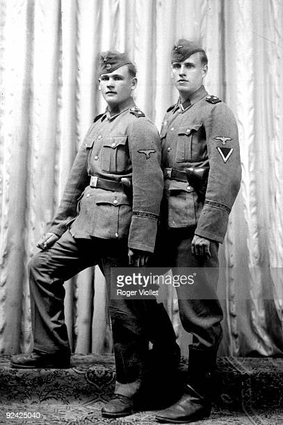 World War II German army SS from the 'Adolf Hitler' division France 1944
