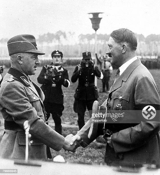 a look at the nazi leaders in world war ii Kids learn about the causes of world war ii including fascism, adolf hitler and   japan began to look to grow their empire in order to gain new resources  in  1934, hitler was proclaimed the fuhrer (leader) and became dictator of  germany.