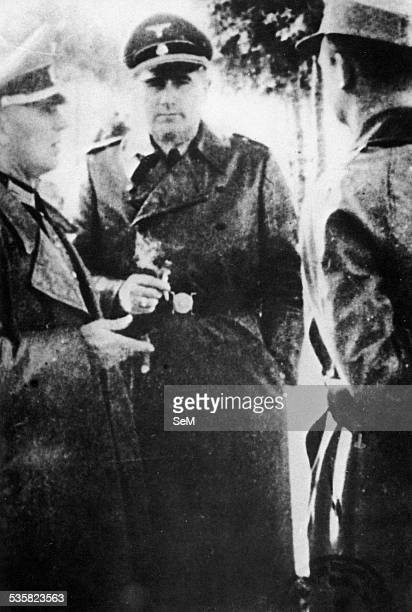 World War II Italy 1944 German Occupation War criminals The SS General Odilo Globoncnick author of numerous crimes against the partisans and the...