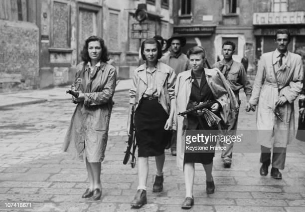 World War Ii Liberation Of Milan On April 1945