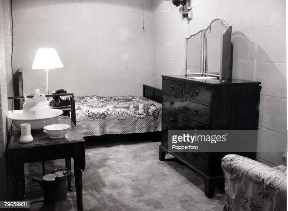 world war ii london england 17th match 1948 the underground bedroom