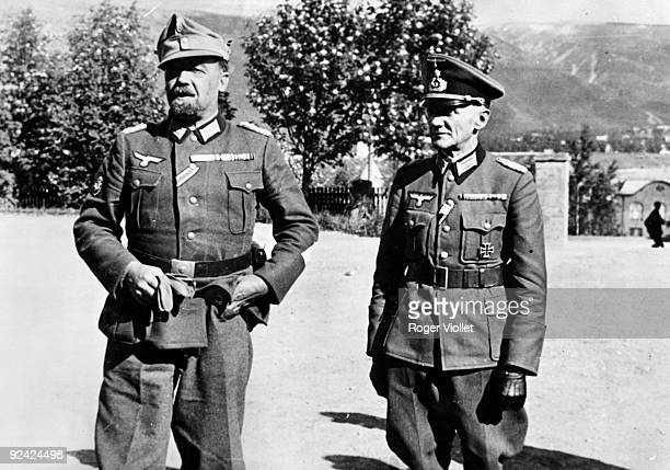 World War II Occupation of Norway July 1940 The Major of the German troops in Narvik