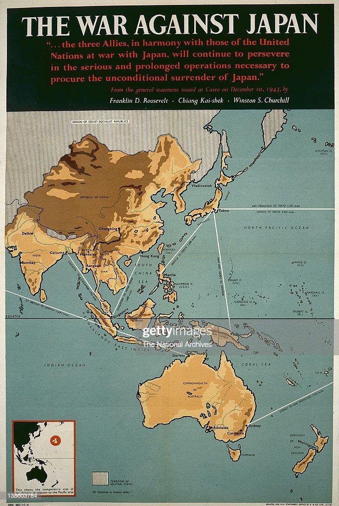 World War II poster The War Against Japan