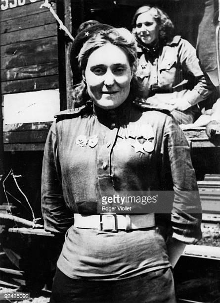 World War II Russian front airwomen