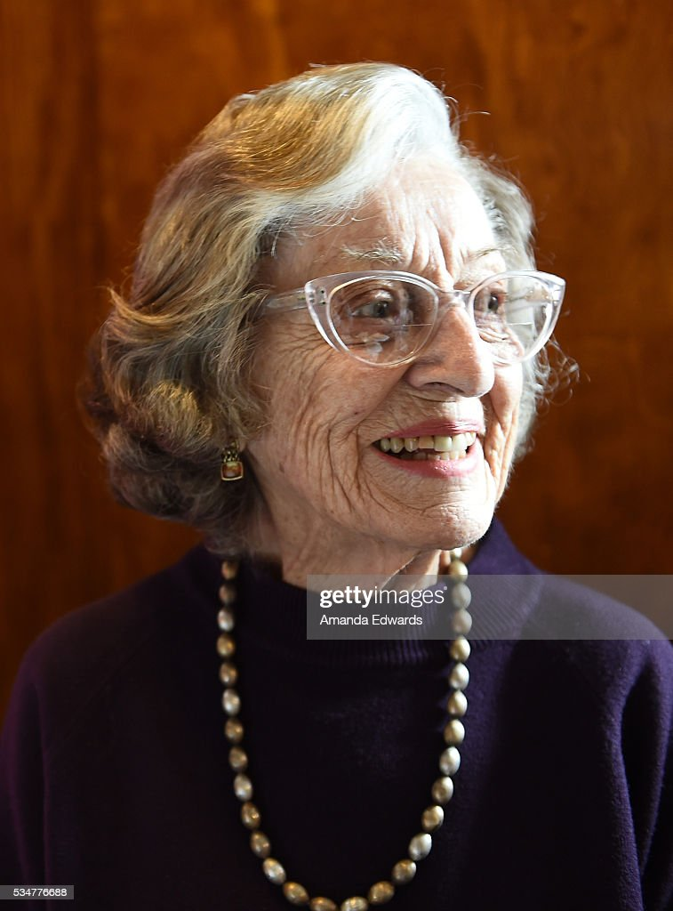 World War II 'War Bride' Jean Dahler attends the 80th anniversary celebration of the Queen Mary's maiden voyage at The Queen Mary on May 27, 2016 in Long Beach, California. Dahler, now 91, departed Southampton, England aboard the Queen Mary on February 3, 1946 for her new life in the United States after marrying a G.I. soldier.