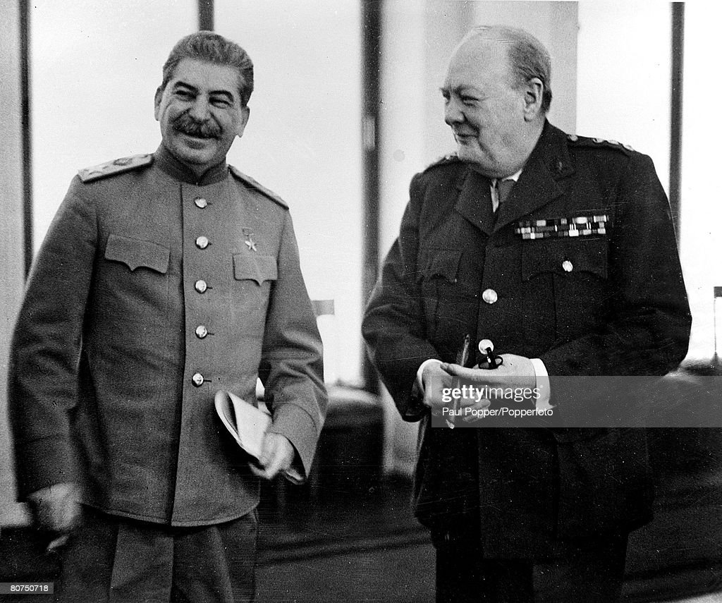 the three big people who led the yalta treaty It was immediately obvious at yalta, however, that the treaty and the friendly words exchanged over it by the diplomats had not changed as stalin had suggested, that france would' demand de gaulle's participation in the conferences of the big three, he black people in britain the monarchy.