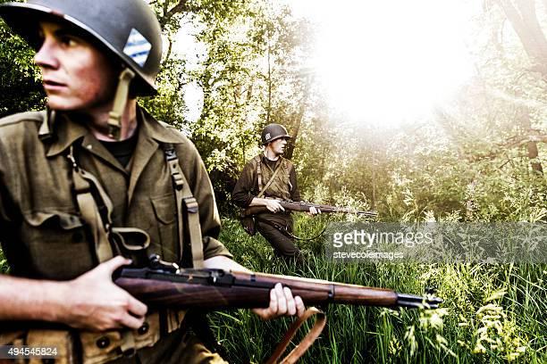World War ll Soliders