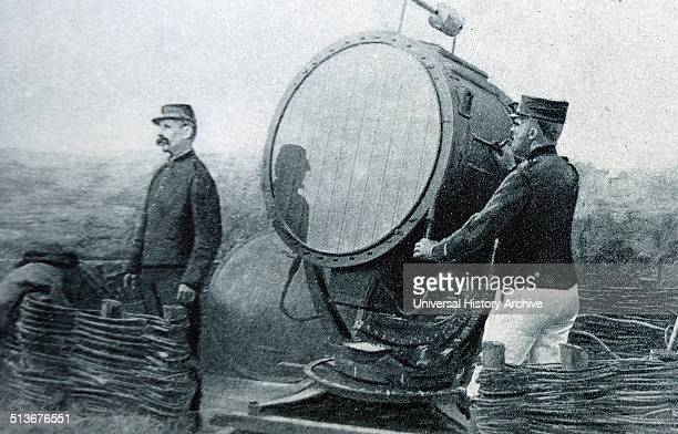 World war one searchlight to detect enemy aircraft