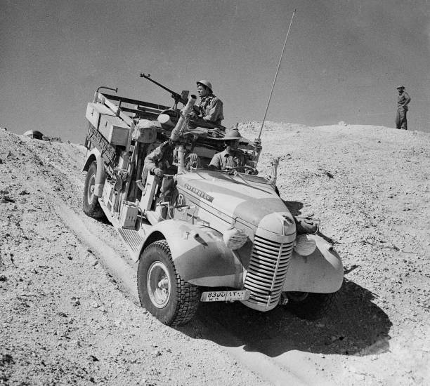 WWII: Desert War: North Africa And The Middle East 1940