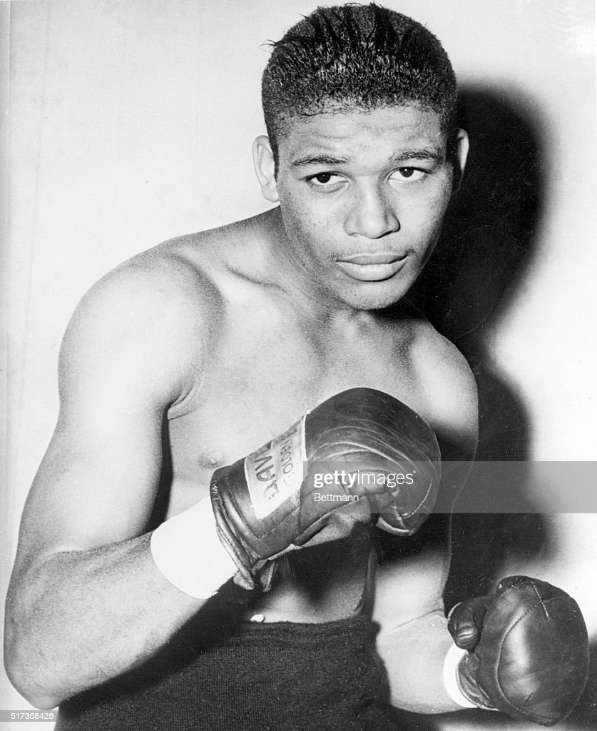 World welterweight champion Sugar Ray Robinson.