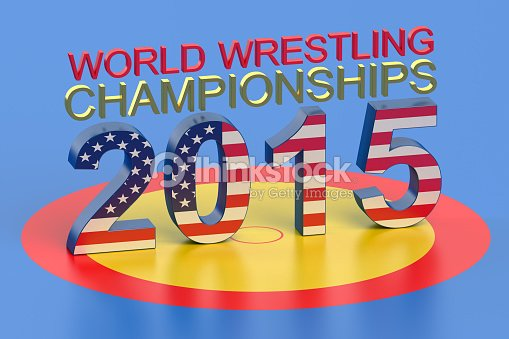 world wrestling championship 2015 las vegas concept stock photo