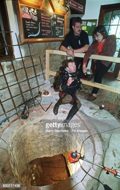 Worldrenowned cave diver Martin Farr had archaeology experts on standby as well as the landlord and lady Paul and Jane Rees of the 16th century Royal...