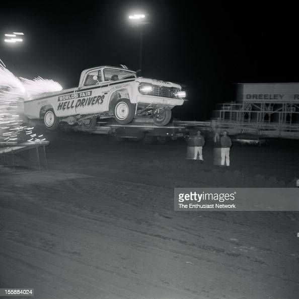 Worlds Fair Hell Drivers Dodge Sponsorship Jack