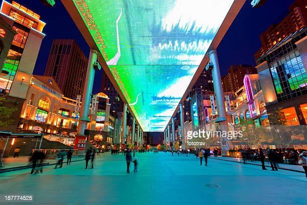 Más grande del mundo de pantalla LCD en Beijing, China