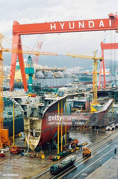 World's leading ship builder Hyundai Heavy Industries Co was founded in 1972 in Ulsan south east of South Korea Including the super tankers and LPG/...