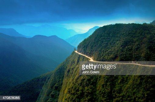 World's most dangerous road, Bolivia