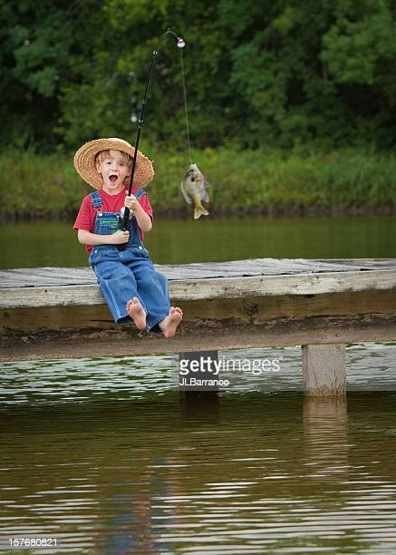 World's Most Excited Little Fisherman
