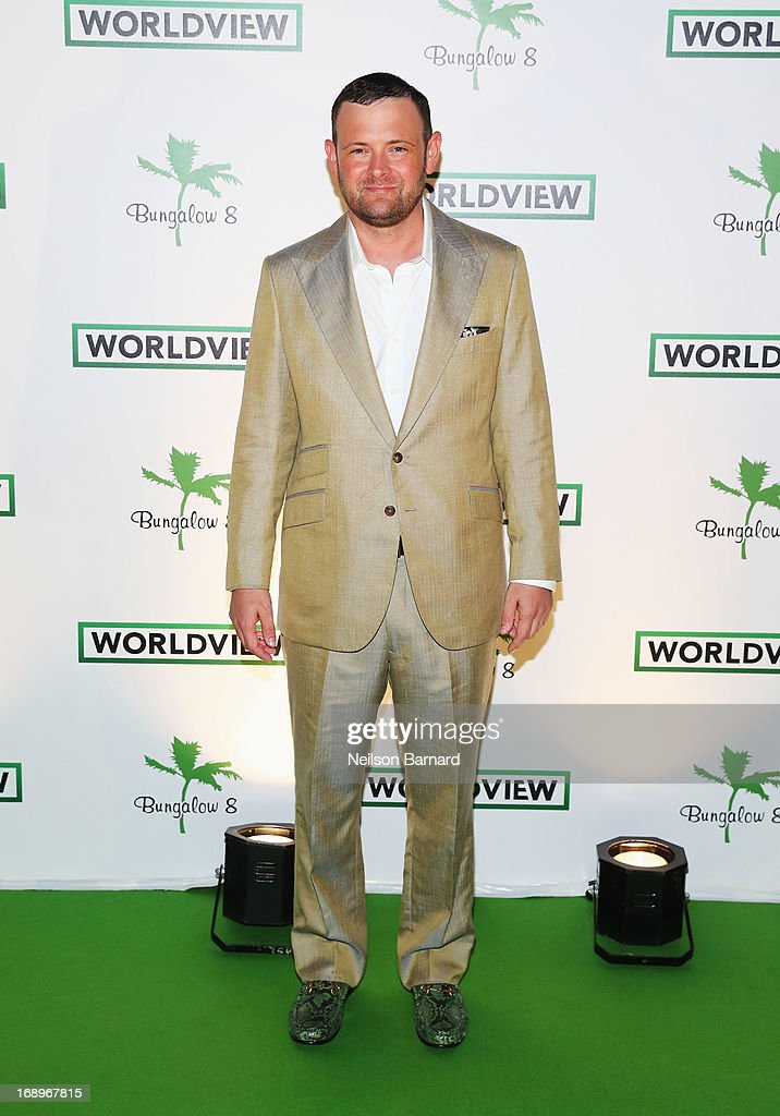 Worldview CEO Christopher Woodrow attends the Worldview Entertainment Cannes Celebration during the 66th Annual Cannes Film Festival at Carlton Beach Club on May 17, 2013 in Cannes, France.