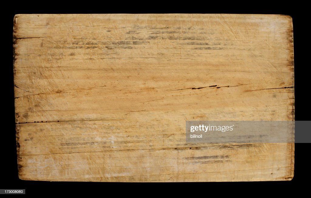 High resolution worn and distressed wood block