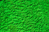 Worn green painted surface