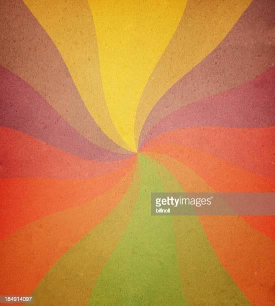 Porté papier avec motif spirale ray