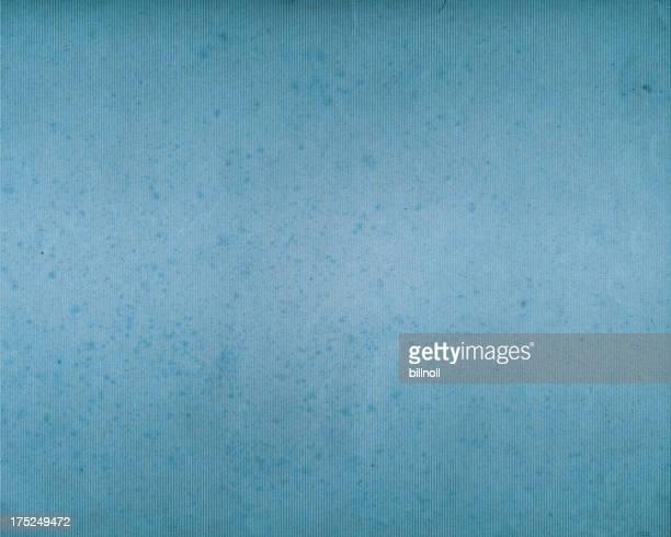Gerippter blauem Papier getragen