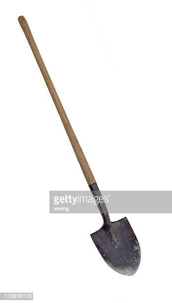 Worn Shovel ... Clipping Path