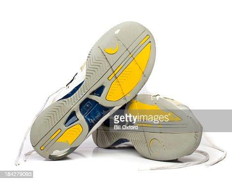 Worn Tennis Shoes