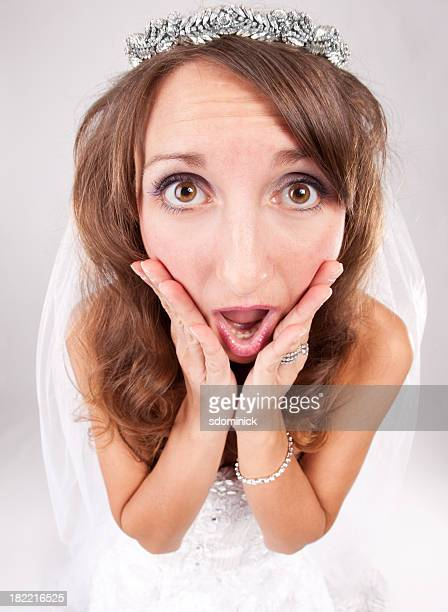 Worried Fisheye Bride