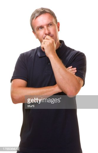 worried man thinking