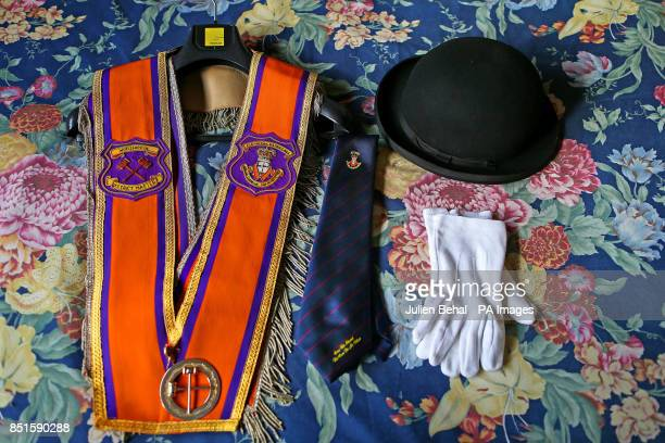 Worshipful District Master of Portadown District Loyal Orange Lodge No 1 cattle farmer husband and father to two children Darryl Hewitt's Orange...