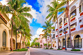 Palm Beach, Florida, USA at Worth Ave.
