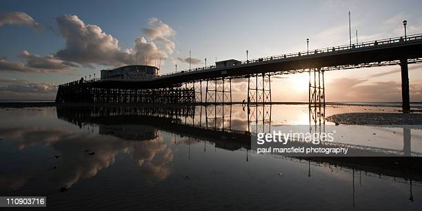 Worthing Pier reflection