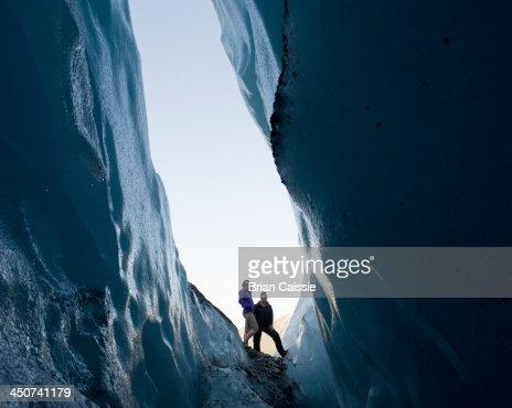 Worthington Glacier, Alaska, USA
