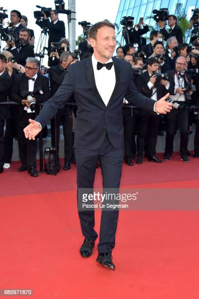 Wotan Wilke Moehring attends the '120 Beats Per Minute ' screening during the 70th annual Cannes Film Festival at Palais des Festivals on May 20 2017...