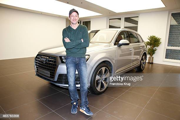 Wotan Wilke Moehring attends the AUDI Terminal Opening on February 18 2015 in Hamburg Germany